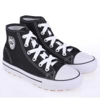 Sepatu Kets Anak Laki-Laki Cowok Warna Hitam Putih CJA 102 CR