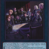 Kartu Yugioh Noble Knights of the Round Table [Platinum Rare]