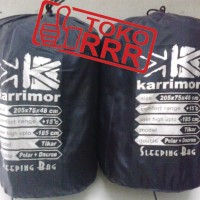 Karrimor Sleeping Bag Double Polar Dacron
