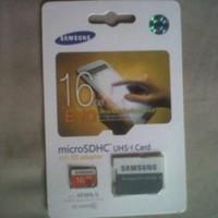 Memory/Memori Card Samsung 16gb MicroSDHC EVO Class 10 Diskon