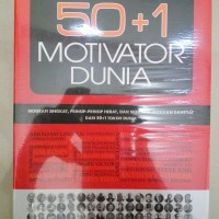 BUKU BIOGRAPHY AND QUOTES 50+1 MOTIVATOR DUNIA-GUSTINA EJ an
