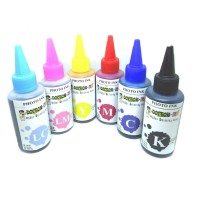 Tinta printer EPSON 100ML 6 warna Dye Photo Ink