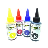 Refill Tinta printer EPSON 100ML 4 warna Dye Photo Ink.