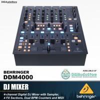 Harga behringer ddm4000 dj mixer disc jockey 4 channel fx midi ddm   Pembandingharga.com