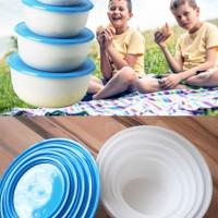 Jual IKEA (R) - REDA - Container Food Set of 5 BPA Free - Lunch Box - PROMO Murah
