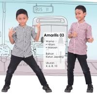 AMARILIS 03 KOKO ANAK QIRANI FRESH 2017/Baju Muslim Anak