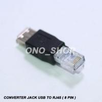 Converter Jack USB To RJ45 ( 8 Pin ) 330 2158