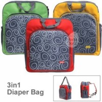 Kiddy Tas 3 in 1 Diaper Bag