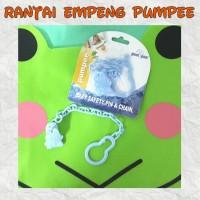 Pumpee Baby Safety Pin & Chain ( Rantai Empeng )
