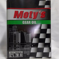Oli Motys-Racing Gear Oil 75W-80 4 Liters (PartNo. M405-B)