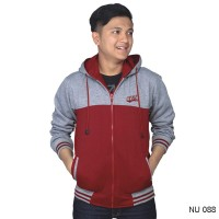 Sweater Catenzo Grey Red