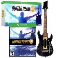 Xbox One Guitar Hero Live + Guitar Bundle