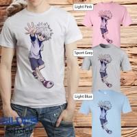Baju kaos T-shirt anime manga kartun Hunter x Hunter - Killua 10