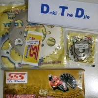 harga Gear Set/ Gir Set / Smash / Shogun 125 Sss 415 Rantai Sss 120 Hsbt Tokopedia.com