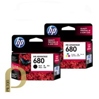 Cartridge Tinta HP 680 Black / Color | Original HP680