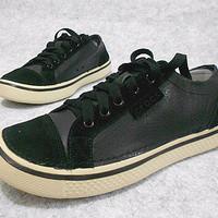 SPECIAL crocs hover lace up, sepatu pria, sepatu kulit cowok PALING MU