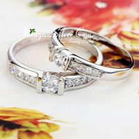 Jual Cincin Couple, Pasangan, Perak, Palladium, Emas, Nikah, Tunangan 748 Murah