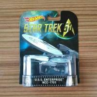 Hot Wheels Retro Star Trek U.S.S. Enterprise NCC-1701