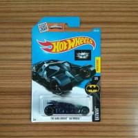 Hot Wheels Batman The Dark Knight Batmobile Blue Track Stars