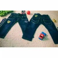 Jeans anak import Ferrari+belt