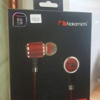 Nakamichi earphone NEP-XW1