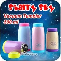 STARRY SKY VACUUM TUMBLER / TERMOS / PANAS DINGIN / STAINLESS / LUCU