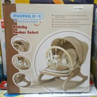 harga Bouncer Mamalove Activity Rocker Uc-40 Tokopedia.com