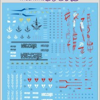 Water Decal MG Astray Blue Frame 2nd Revise by DL MODEL