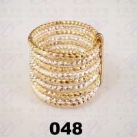 Jual Yaxiya (kalung gelang anting) cincin keroncong warna kombinasi 18K 048 Murah