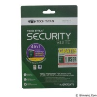 Kaspersky Tech Titan Internet Security Suite 2017 Software [3 User]