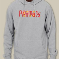 Ranma 1/2 Retro Anime Logo Inspired Pullover Hoodie