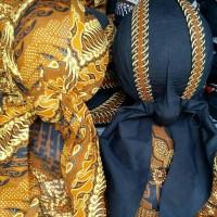 Blangkon Jogja Dewasa / Blankon / Pakaian Adat Jawa