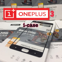 oneplus 3/T-tempered glass one plus three full cover