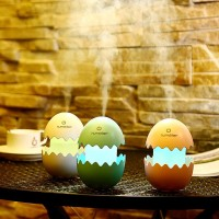 Jual Broken Cracked Egg Design Aroma Diffuser Ultrasonic Humidifier USB LED Murah