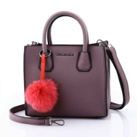 Tas Wanita Tas Michael Kors Mercer With FurCharm Top Handle Bag 6618