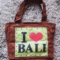 Tas Joger Bali wanita / tas santai / shoulder bag