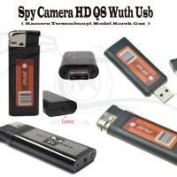 Jual High Definition Q8 Lighter With Usb Camera ( Spy Model Korek ) Murah
