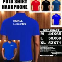 Polo Shirt Gadget/Hp NOKIA LUMIA 900 FONT/Kaos Kerah/Baju Kerah/Tshirt