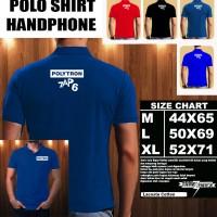 Polo Shirt Gadget/Hp Polytron Zap 6 LOGO Font/Kaos Kerah/Baju Kerah