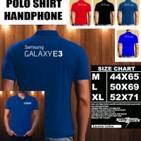 Polo Shirt Gadget/Hp Samsung Galaxy E3 Font/Kaos Kerah/Baju Kerah