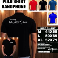 Polo Shirt Gadget/Hp Samsung Galaxy S5 Mini Font/Kaos Kerah/Baju Kerah