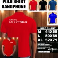 Polo Shirt Gadget/Hp Samsung Galaxy Tab 3 Font/Kaos Kerah/Baju Kerah