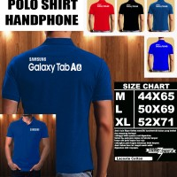 Polo Shirt Gadget/Hp Samsung Galaxy Tab A6 Font/Kaos Kerah/Baju Kerah