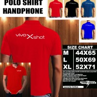 Polo Shirt Gadget/Hp VIVO Xshot Font/Kaos Kerah/Baju Kerah/Tshirt/Kaos