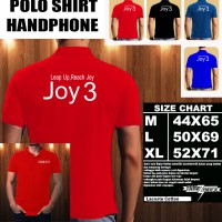 Polo Shirt Gadget/Hp OPPO JOY 3 LOGO Font/Kaos Kerah/Baju Kerah/Tshirt