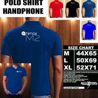 Polo Shirt Gadget/Hp Himax M2 FONT/Kaos Kerah/Baju Kerah/Tshirt