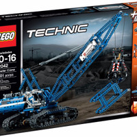 LEGO Technic # 42042 Crawler Crane Tower Blue Construction Huge Loads