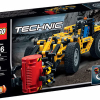 LEGO Technic # 42049 Mine Loader Yellow Truck Cutting Cargo 3D 2 in 1