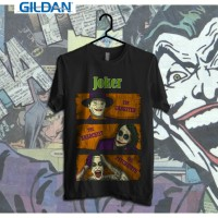 Joker's Type Printed in Gildan Shirt