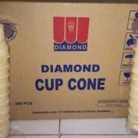 Cone Ice Cream / Es Krim Diamond